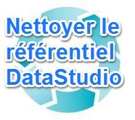 Nettoyer le référentiel DataStudio