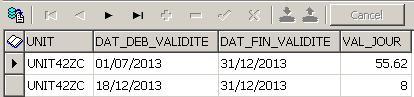 Chevauchement dates - 2 valeurs différentes